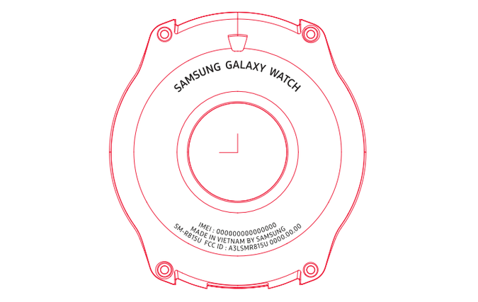 Samsung Galaxy Watch сертифицированы FCC