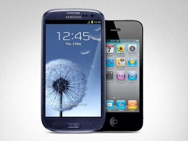 Apple vs Samsung Galaxy S III