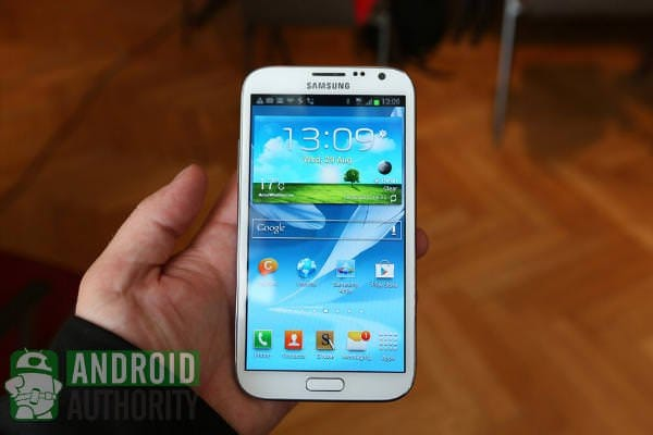 Samsung Galaxy S3 vs Samsung Galaxy Note 2