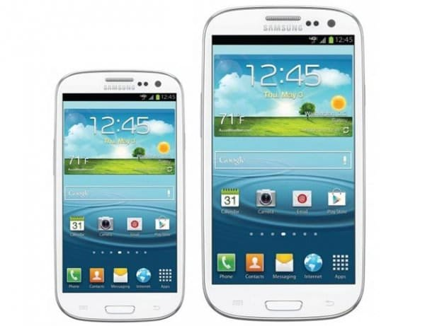 Galaxy S3 Mini vs Galaxy S3 [Видео]