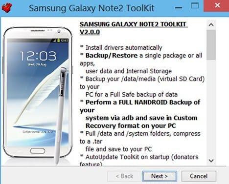 Устанавливаем Recovery, Root и Unroot на Galaxy Note 2 (All-In-One Galaxy Note II Toolkit)