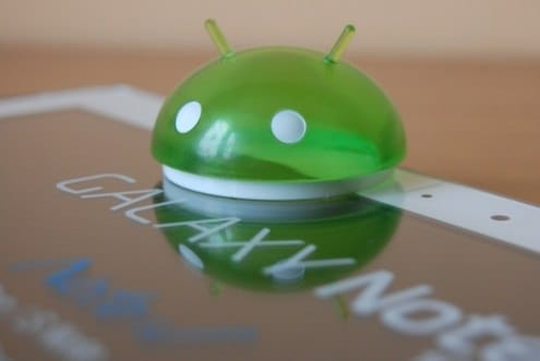 Galaxy Note получил обновление Android 4.1.2 Jelly Bean