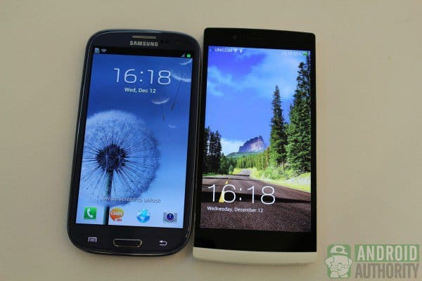 Samsung Galaxy S3 vs Oppo Find 5 [Видео]