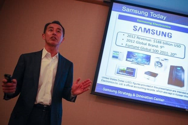 manufacturing strategy of samsung