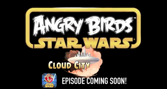Скоро анонс Angry Birds Star Wars: Cloud City