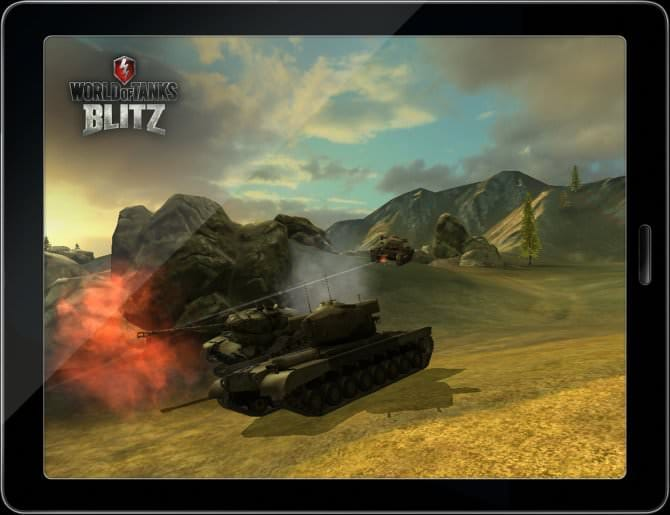 Wargaming анонсировал World of Tanks Blitz для Android