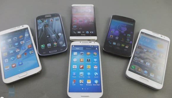 Большой обзор и сравнение Samsung Galaxy S4, Samsung Galaxy S3, Galaxy Note 2 и LG Optimus G Pro, Nexus 4, HTC One