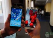 LG Optimus Pro G vs Galaxy Note 2: только цифры