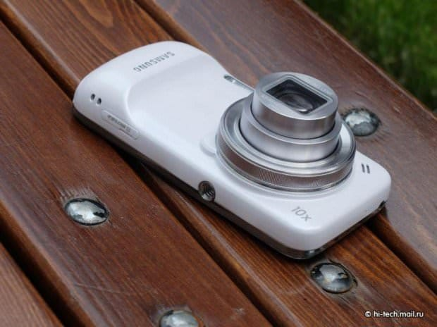 Первое видео с Samsung Galaxy S4 Zoom [Видео]