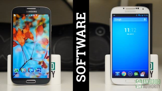Samsung Galaxy S4 vs Galaxy S4 Google Play Edition [Видео]