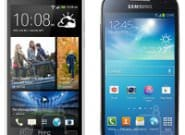 Samsung Galaxy S4 mini vs HTC One mini: сравниваем размеры