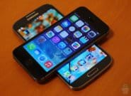 Galaxy S4 vs iPhone 5S: быстрый взгляд