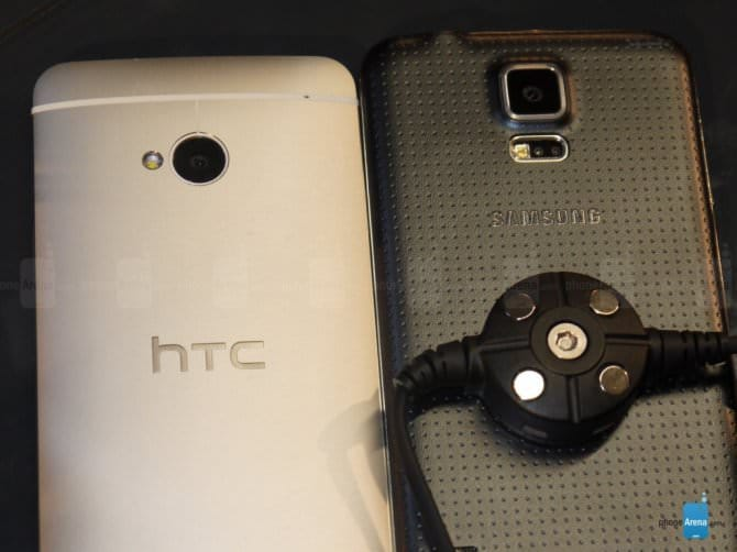 Сравнение Samsung Galaxy S5 vs HTC One
