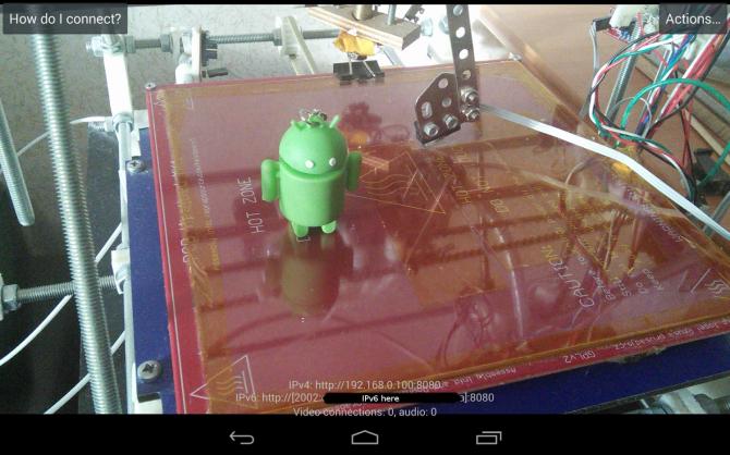 Как проделать с Android-смартфона камеру слежения тож радионяню