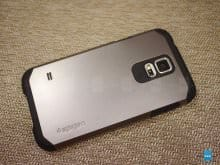 Обзор чехла Spigen Though Armor для Galaxy S5