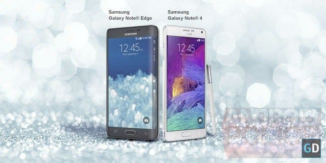 Характеристики Samsung Galaxy Note 4 и Galaxy Note Edge