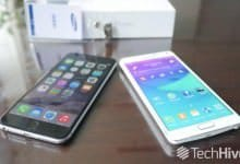 Samsung Galaxy Note 4 ������ iPhone 6 Plus �� �����