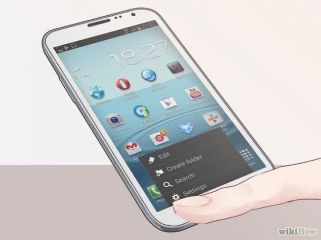Как произвести сброска настроек (hard reset) бери Samsung Galaxy