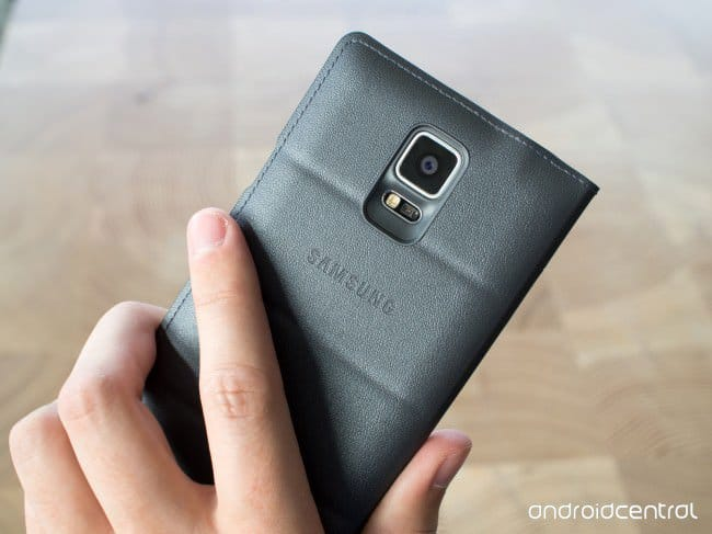 Кейс Samsung S-View Flip Cover для Galaxy Note 4