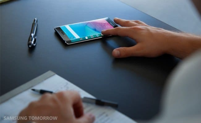 Samsung утверждает, что изогнутый экран Galaxy Note Edge разработан для удобства пользователей