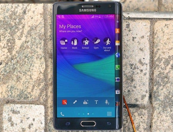 Galaxy Note Edge Premium Edition появился в Европе