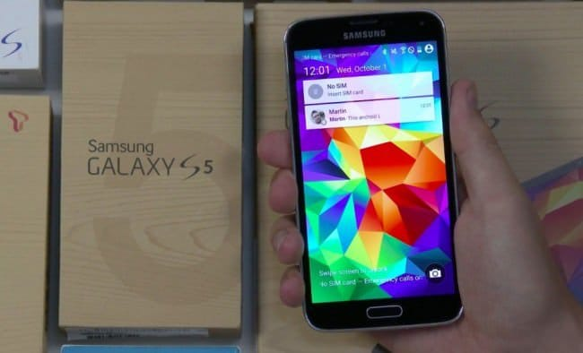 Galaxy S5 получит Android 5.0 Lollipop до конца года