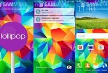 Samsung Galaxy S5 �������� �������� ���������� Android 5.0 Lollipop