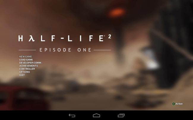 Half-Life 2: Episode One появилась в Google Play