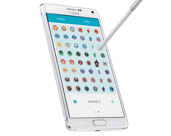 Samsung выпустил S Pen Penvatars для Galaxy Note 4 и Note Edge