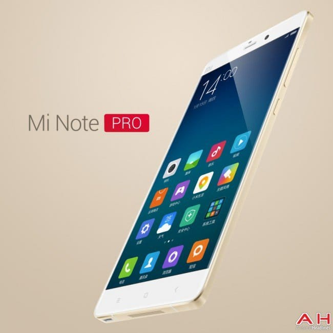 Сравнение Xiaomi Mi Note Pro vs Samsung Galaxy Note 4
