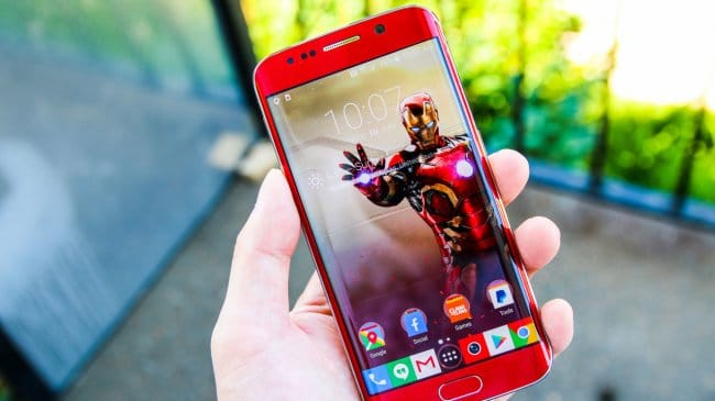 Как из простого Galaxy S6 Edge сделать версию Iron Man Edition