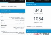 Samsung Galaxy Grand Prime Value Edition прошел тестирование в бенчмарке Geekbench 3