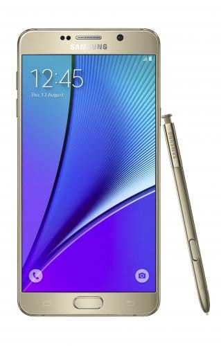 Характеристики Samsung Galaxy Note 5