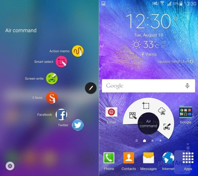 Сравнение Note5 TouchWiz vs Note 4 TouchWiz UI: какие изменения произошли с интерфейсом от Samsung?
