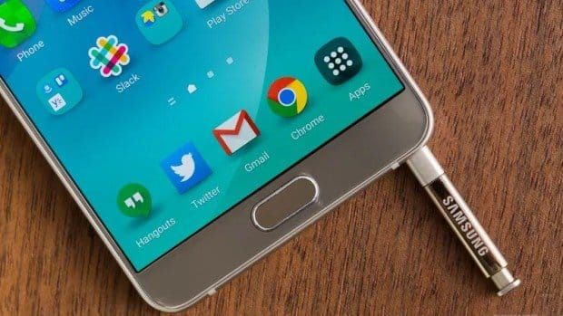 Samsung начал обновлять фаблет Galaxy Note 5 до Android 6.0.1 Marshmallow