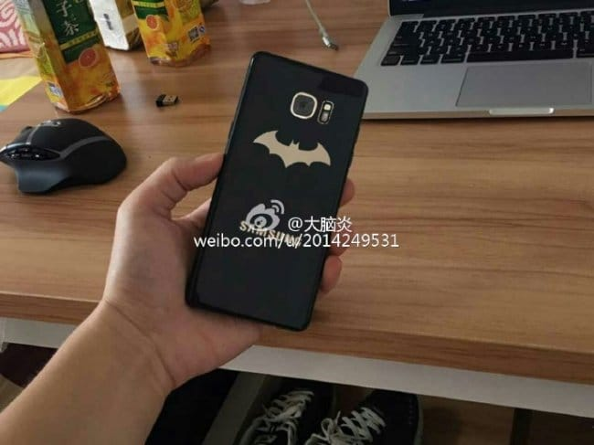 Samsung Galaxy Note 7 Injustice Edition показался на фото