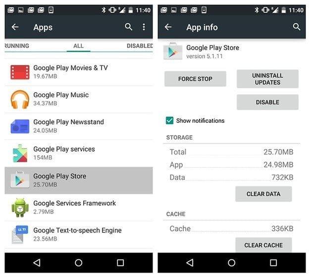 Распространенные ошибки Google Play да равно как их устранить