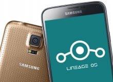 Как определить Android 0.1.1 Nougat сверху Samsung Galaxy S5