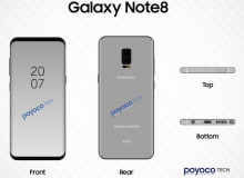 Рендеры Samsung Galaxy Note 8