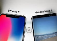 Samsung Galaxy Note 8 сразился с iPhone X  в испытании на автономность