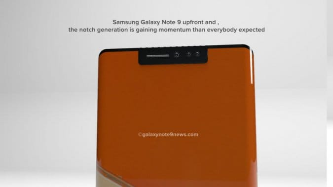 Новый концепт Samsung Galaxy Note 9 от Blogo