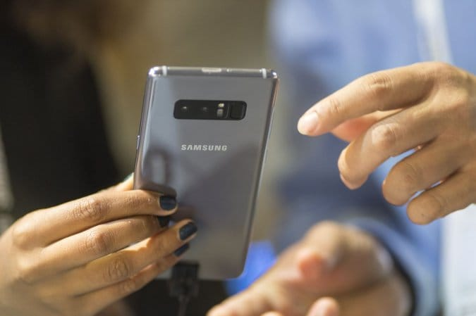 Samsung Galaxy Note 9 могут представить 9 августа